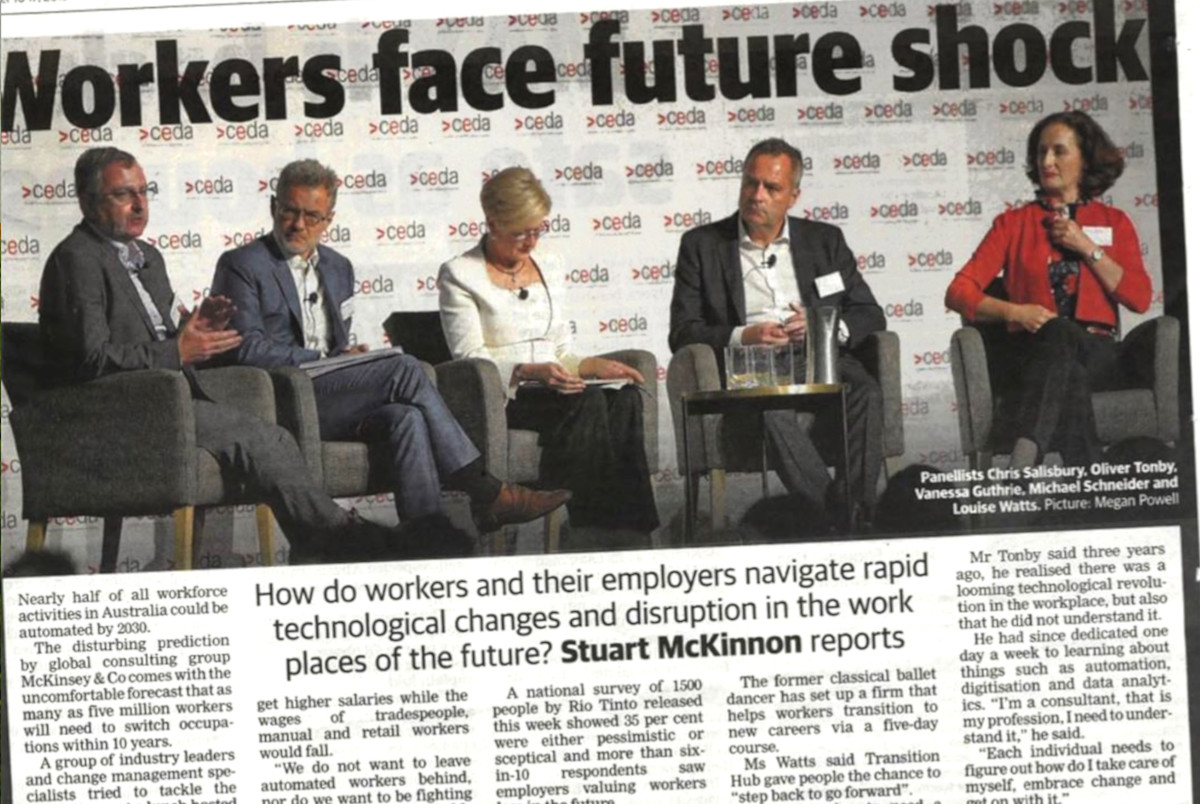 Worker Face Future Shock According to CEDA